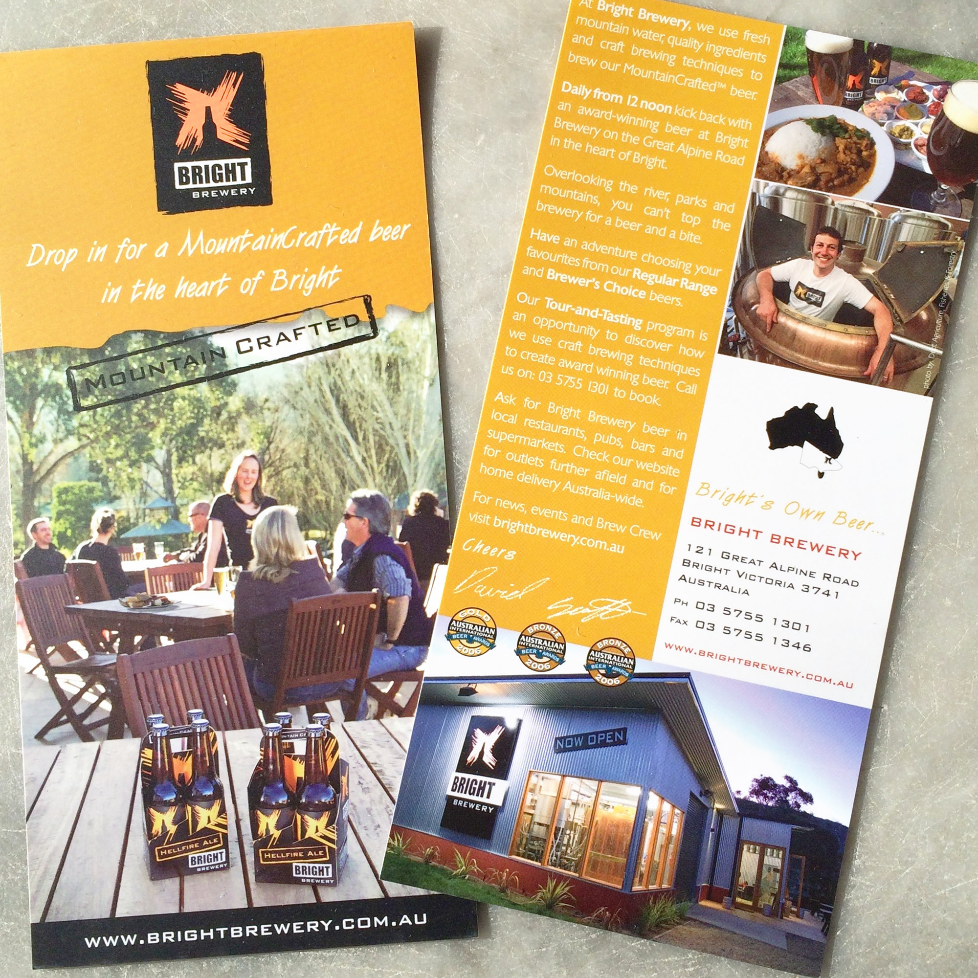 Bright Brewery Brochure